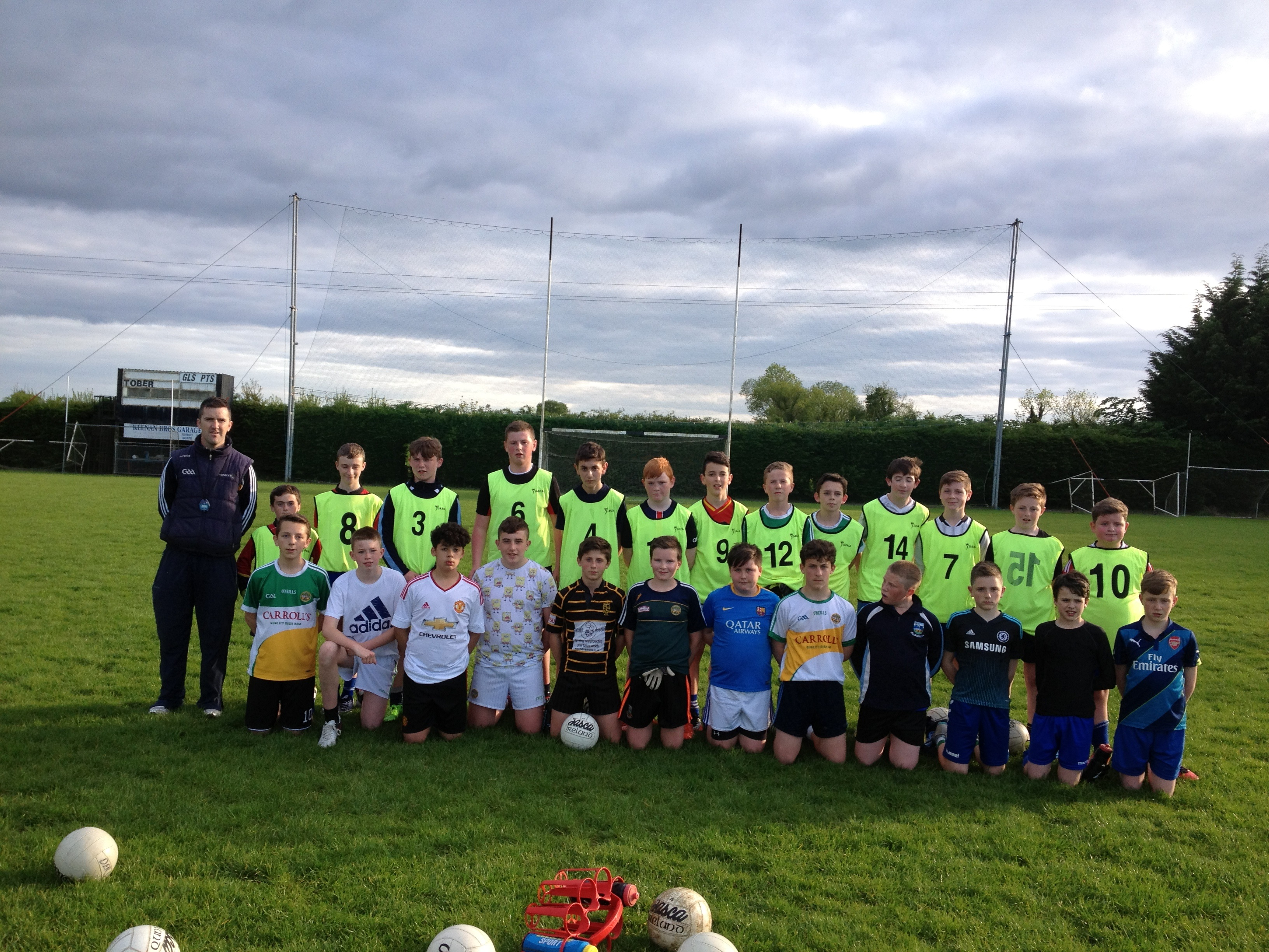 DER Gaels U-14 Coaching Session