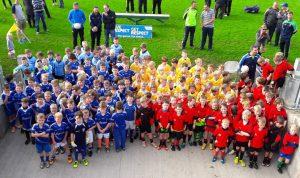 Offaly GAA ran a very successful U8 Football blitz in O'Connor Park last Sat morning