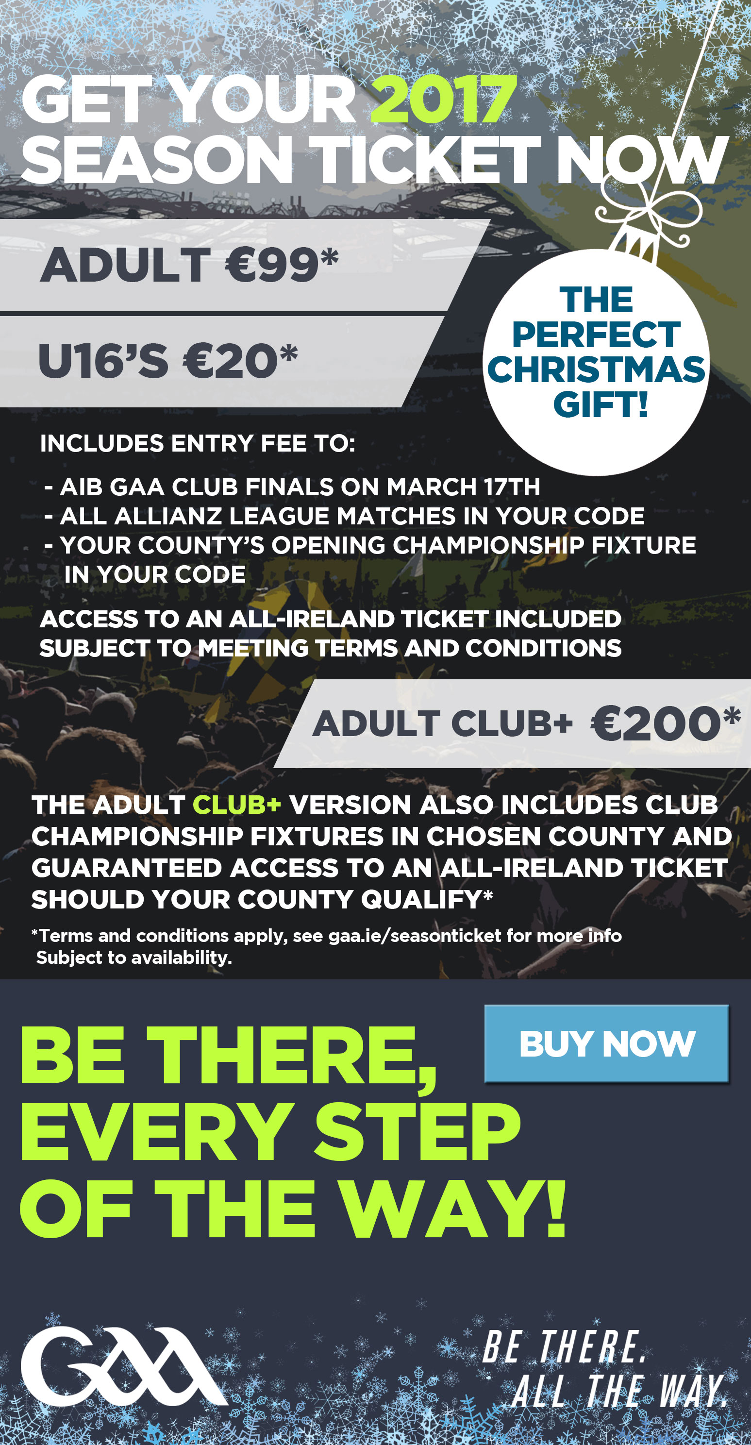 The Perfect Christmas Present for all GAA supporters