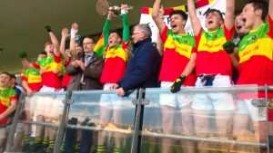 St Broughan's Minor A Football Champions