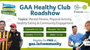GAA Healthy Club Roadshow