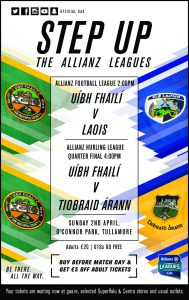 Come Out on Sunday and Support Offaly Hurlers & Footballers