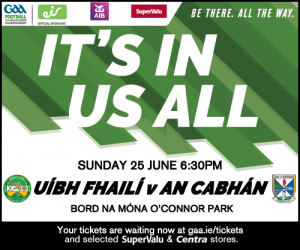 All-Ireland Football Qualifier Offaly v Cavan