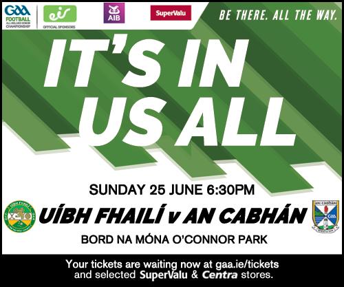 All-Ireland Football Qualifier Offaly v Cavan