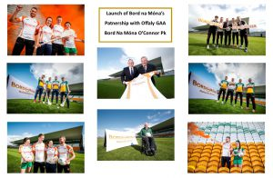 Launch of Bord na Móna's Partnership with Offaly GAA