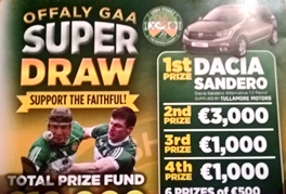 Top Prize in Offaly Super Draw goes to Daingean