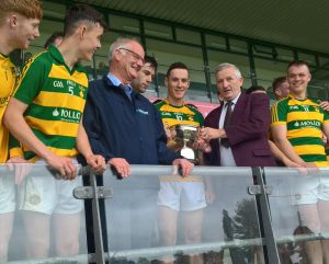Ballinamere are Molloy Environmental Intermediate Hurling Champions