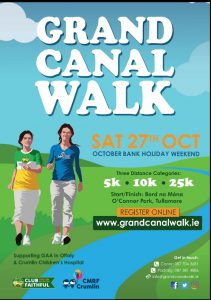 """These boots are made for walking!"" Calling all to ""The Grand Canal Walk"""