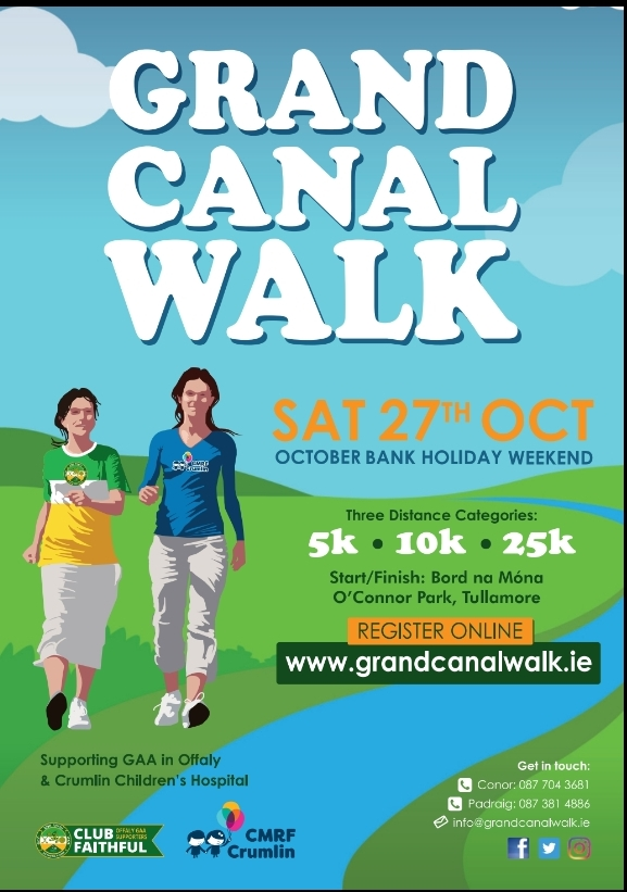 """""""These boots are made for walking!"""" Calling all to """"The Grand Canal Walk"""""""