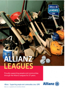 DATES FOR YOUR DIARY – OFFALY'S ALLIANZ LEAGUE SCHEDULE FOR 2019