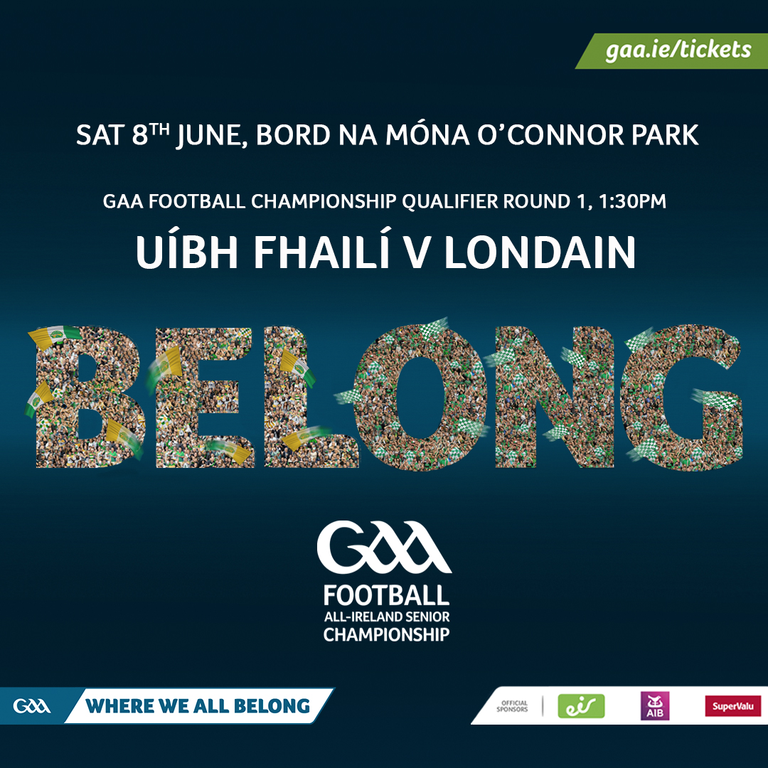 Offaly Team to play London Announced