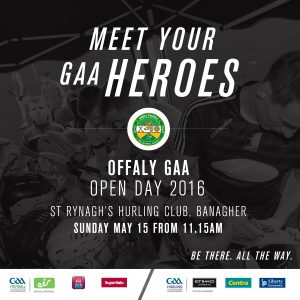 Come Play With Offaly Senior Hurlers This Sunday