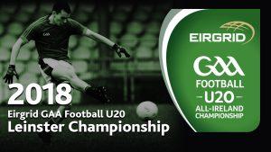 Offaly U20 Football Team announced