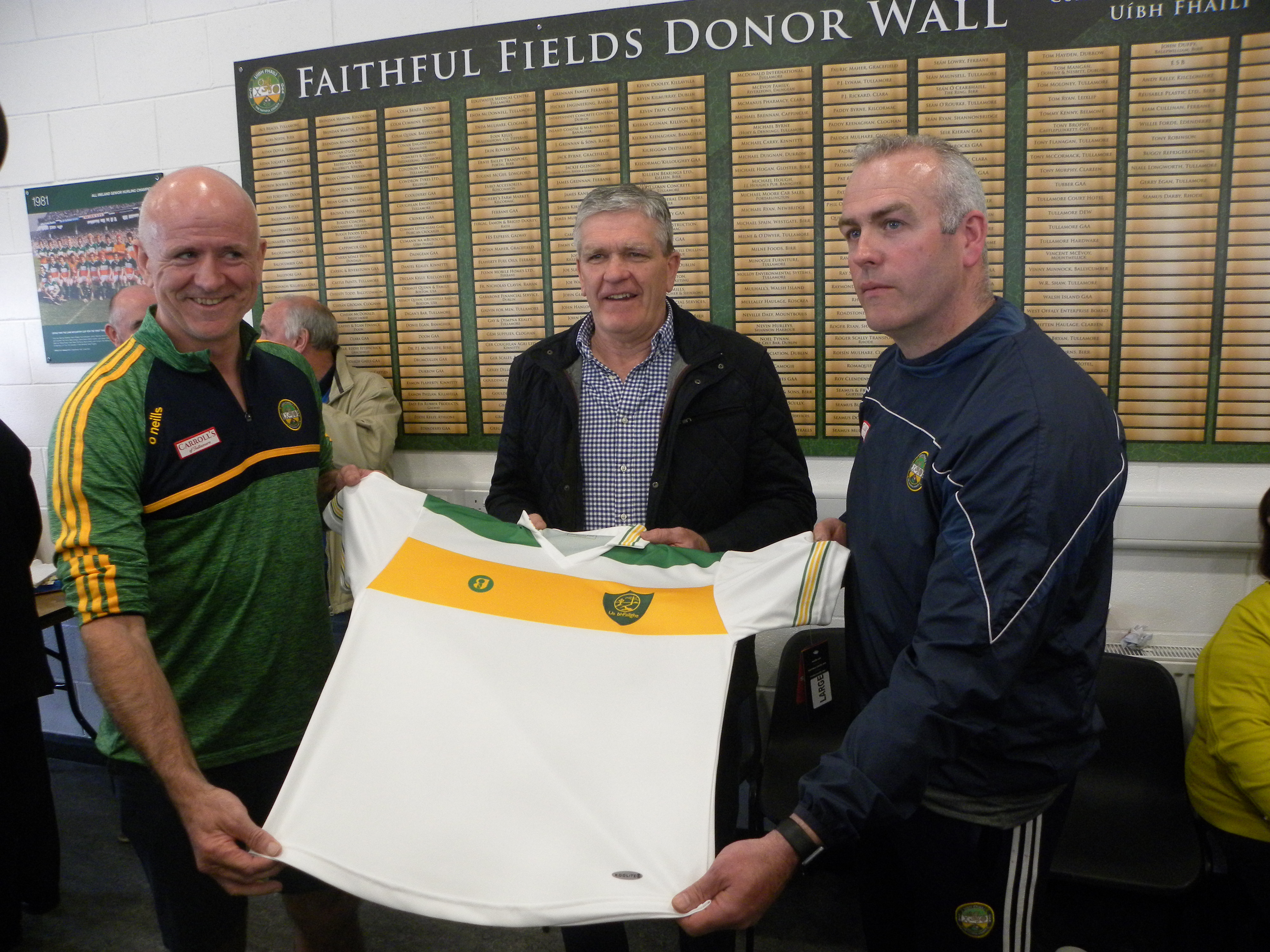 """1982 """"Replica"""" Jersey and Senior Football and Hurling Launch"""
