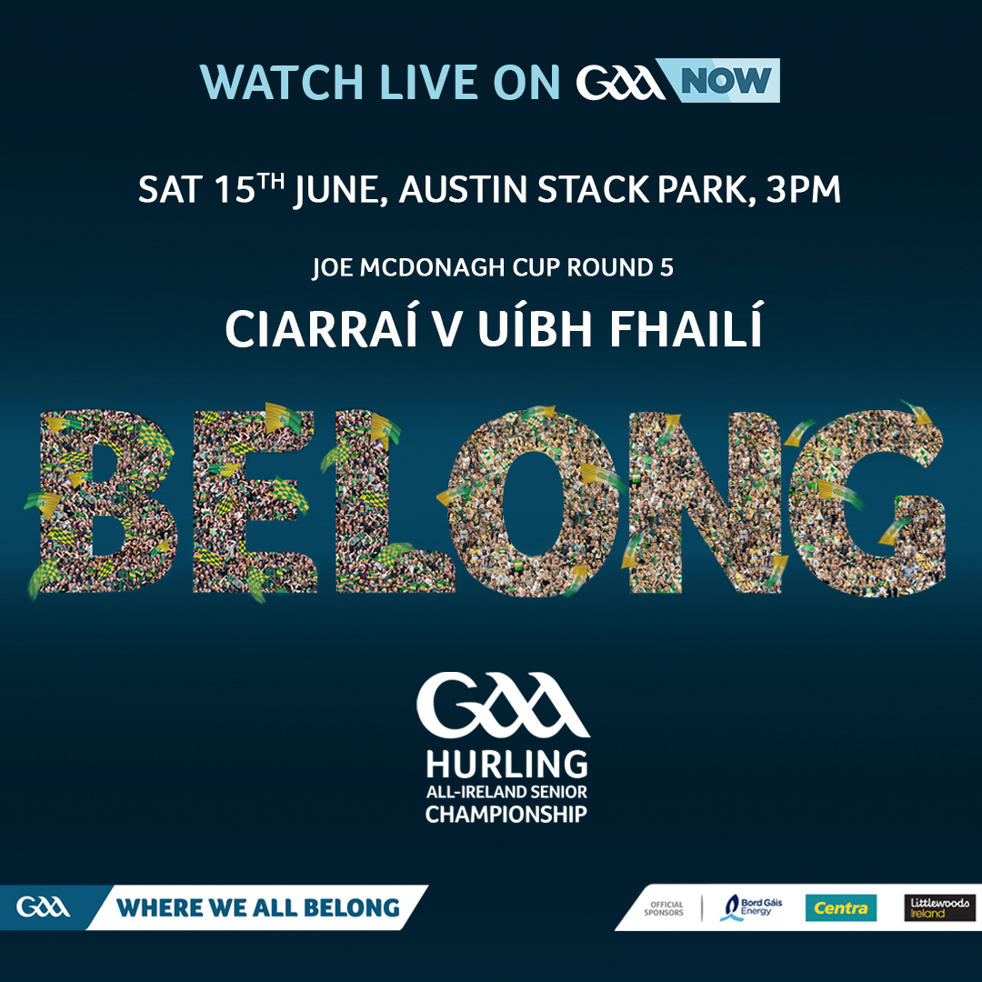 Offaly Team to play Kerry Announced