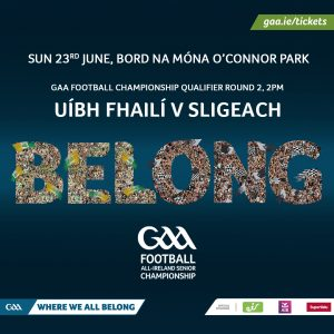 Offaly Team to play Sligo Announced