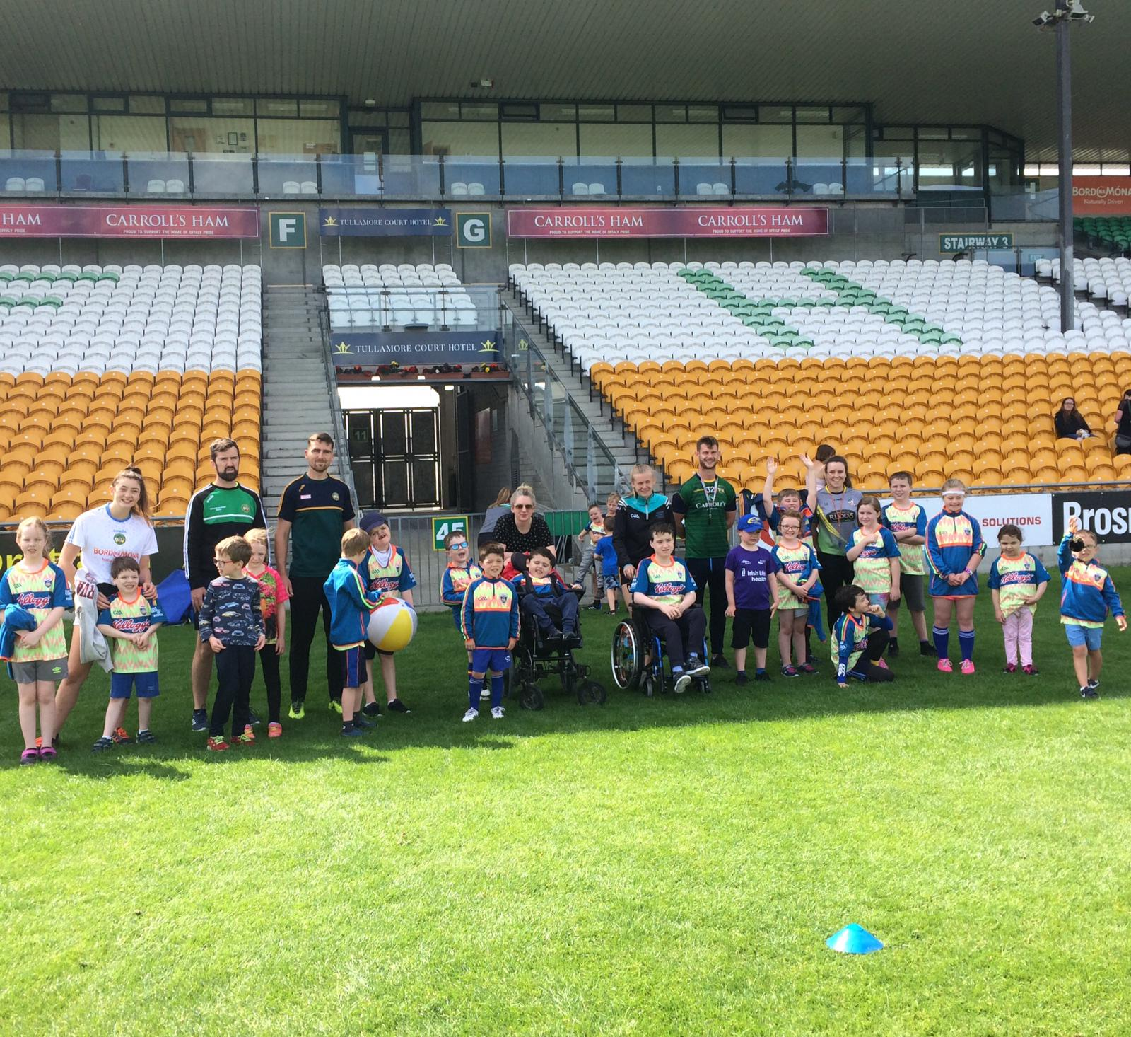 Brilliant week at Offaly Inclusive Cúl Camp