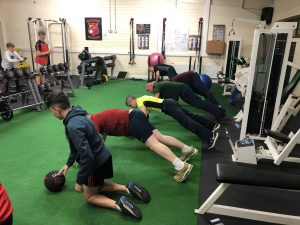 Youth S&C Workshop in Gracefield GAA Club
