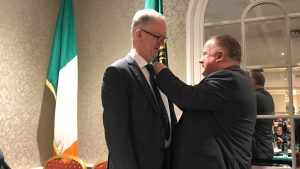 Pat Teehan Elected Leinster Council Chairman