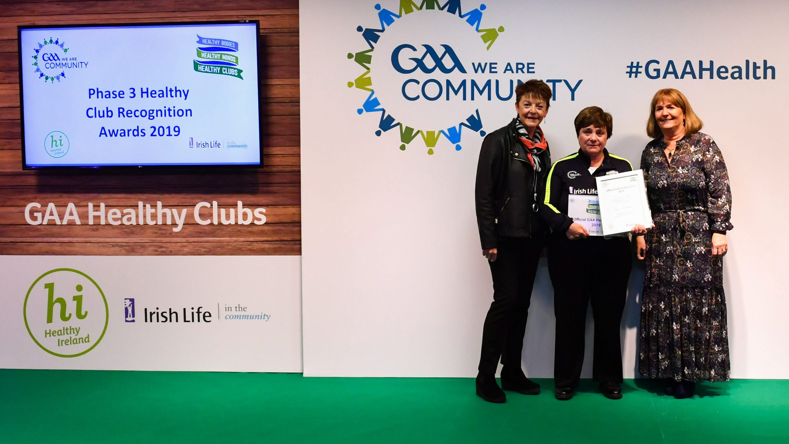 Offaly Well Represented In Healthy Club Project