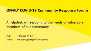 Offaly GAA Engaged In Community Response To Covid-19